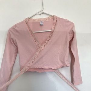 Light pink shall for ballet